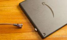 Fire HD 10 タブレットの充電スタンド代わりに、磁石USBケーブル購入レビュー