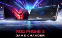 144Hzゲーミングスマホ「ASUS ROG Phone 3」発表、価格・スペック
