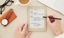 キングジム、筆圧ペン付きE-INKノート「フリーノ」(FRN10)発表