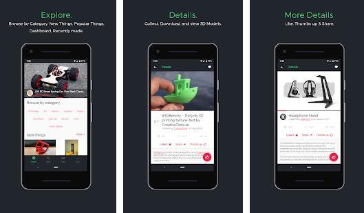 Android app work twob threed premium