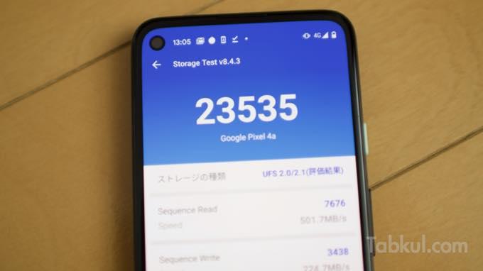 Google Pixel4a StorageTest  3