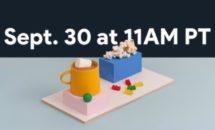 Googleが9/30イベント開催を告知、Pixel5など発表へ