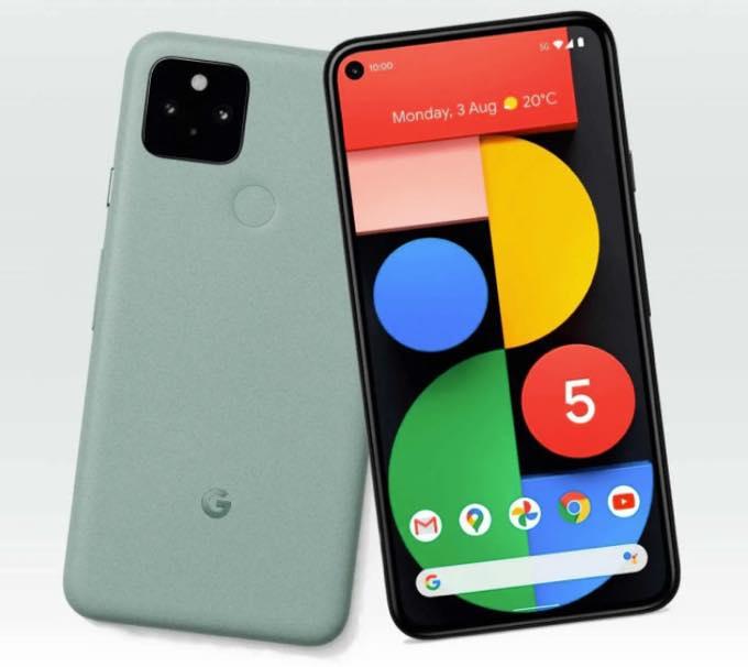 Pixel5 mintgreen