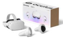 Facebookが最新VRヘッドセット「Oculus Quest 2」発表、価格33800円〜