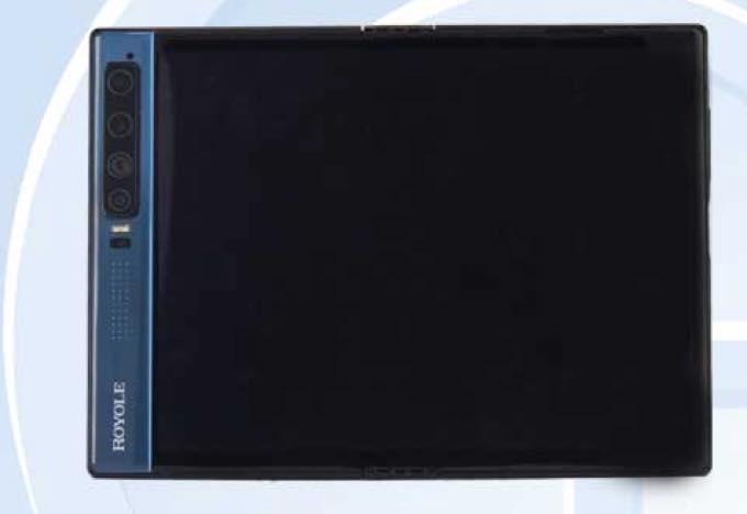 Royole flexpai 2 foldable phone TENNA