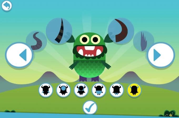Android app com teachyourmonstertoread tmapp
