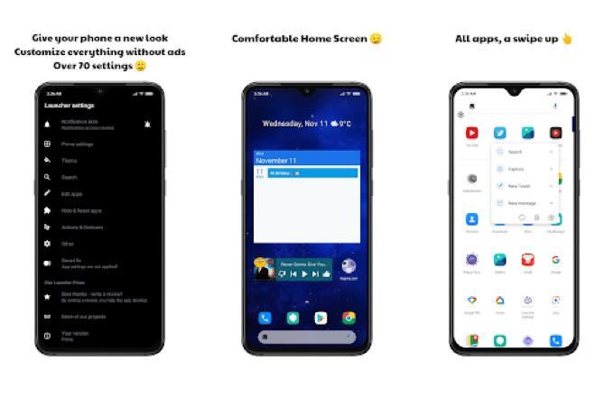 Android app com hypergdev starlauncherprime