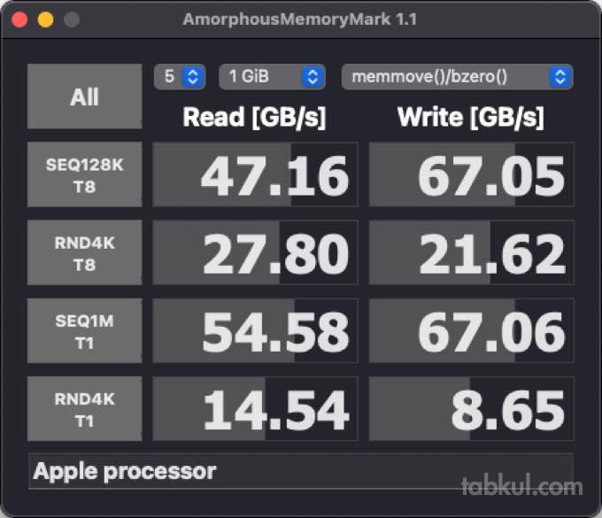 Mac mini M1 2020 memory