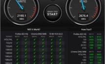 M1搭載MacBook AirはSSDも高速、旧モデルの2倍に
