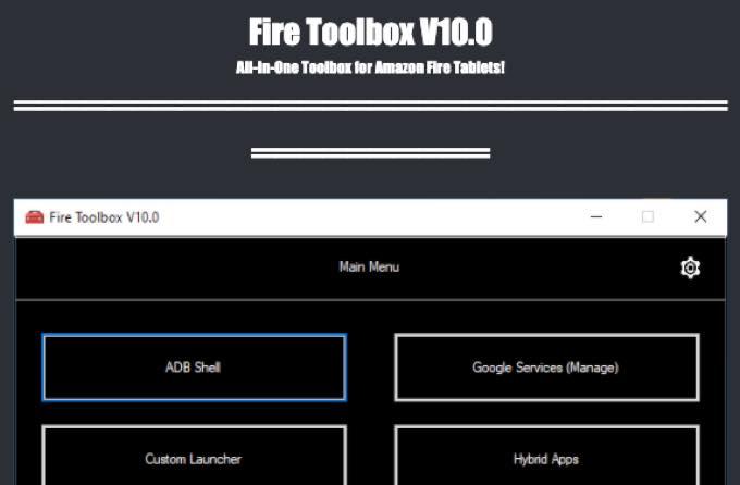 Windows tool fire toolbox v10 0