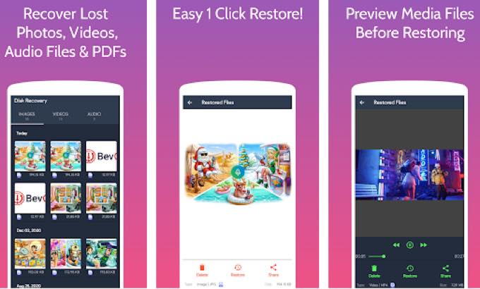 Android app com anutoapps diskrecovery