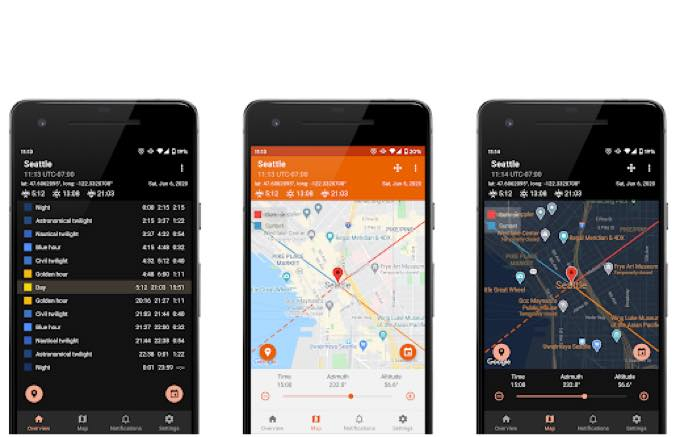 Android app com simplaapliko goldenhourpro