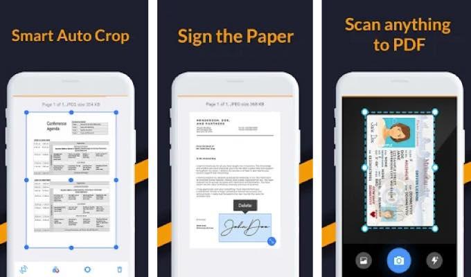 Android app om soft documentscanner scanpdf