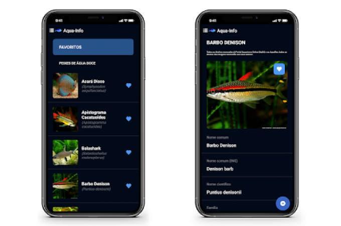Android app com aquarismo