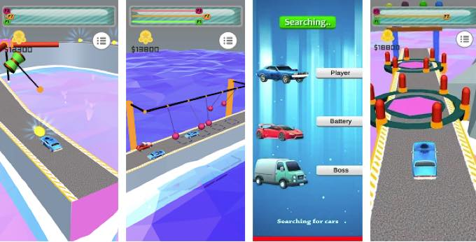 Android app bright games car survival racing