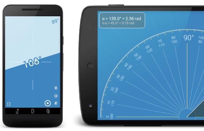 Android app com vistechprojects millimeterpro