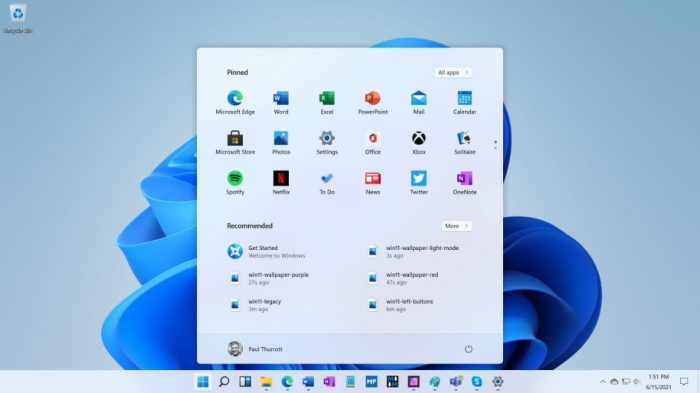 Windows11 leaks 20210616