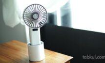 首振りUSB扇風機「WINDPOWER」購入レビュー