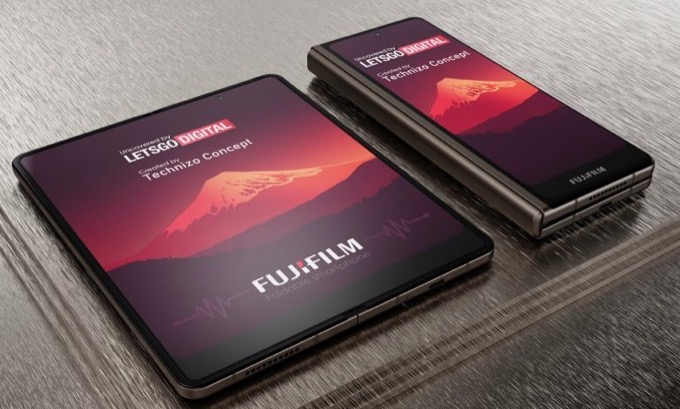 Fujifilm opvouwbare smartphone