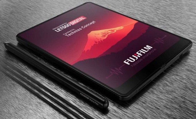 Fujifilm opvouwbare smartphone2
